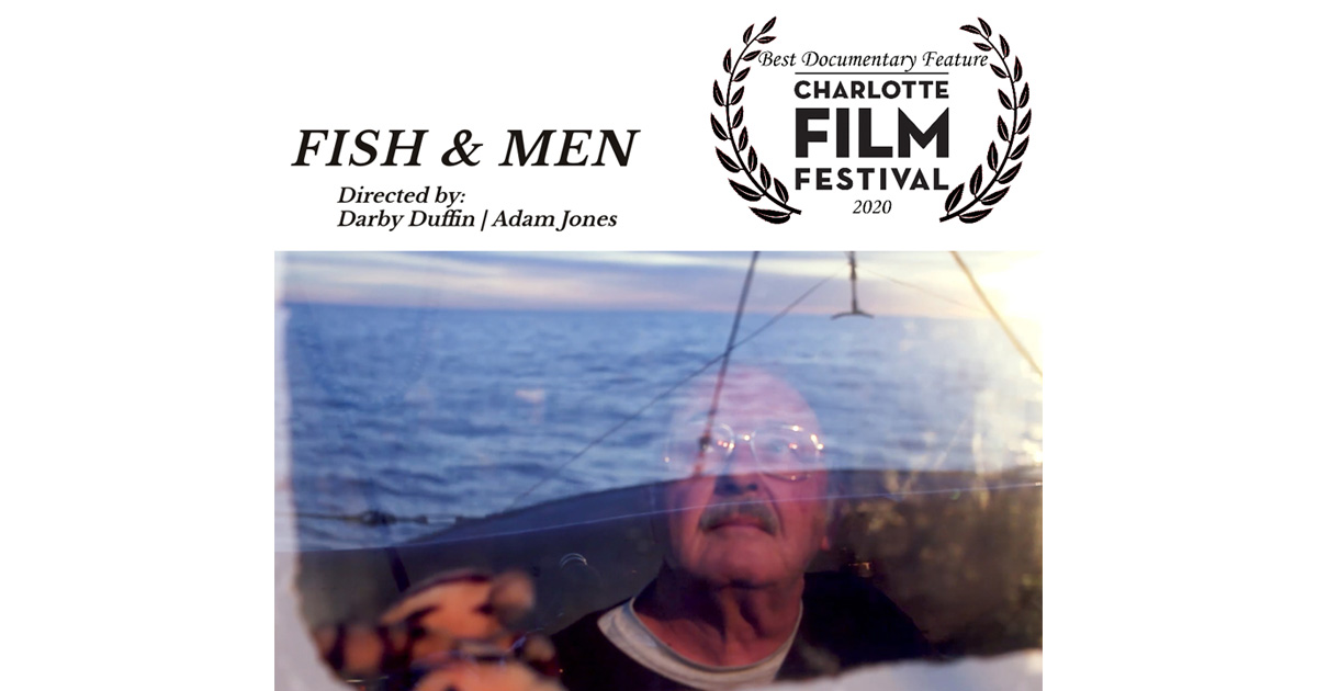 Charlotte Best Doc Jury Award to FISH & MEN